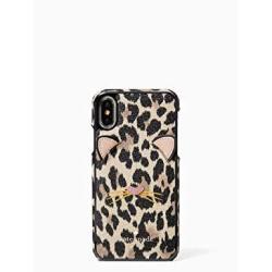 check out 93105 6e5ba Kate Spade New York Leopard Applique Phone Case Compatible Apple Iphone X |  R1695.00 | Cellphone Accessories | PriceCheck SA