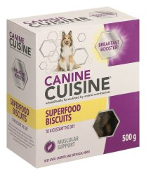 Canine Cuisine - Breakfast Booster Biscuits - 500G