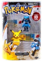 Pokemon Series 2 Pikachu Vs Riolu Action Figure 2-PACK