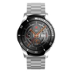 Sanda GT106 1.3 Inch Screen Smart Watch Support Music Control heart Rate Monitoring blood Pressure Monitoring sleep Monitoring Silver Steel Strap