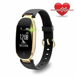 Sammid Fitness Tracker Men Sport Bluetooth Smart Bracelet Watch Touch Screen Life Waterproof Pedometer Heart Rate Monitor Activity Tracker With Remote Control Camera For