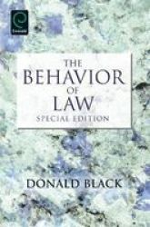 The Behavior Of Law - 3 Paperback Special Edition