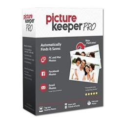 Smart USB Backup Drive 500GB - Picture Keeper Pro External Photo Video And File Backup Device For PC And Mac Laptops And Compute