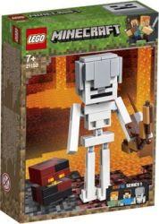 Lego Minecraft Skeleton Bigfig With Magma Cube