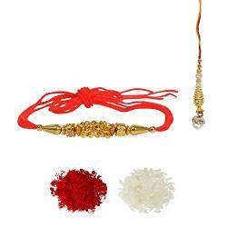 Lalhaveli Pack Of Rakhi Thread Raksha Bandhan Gift For Your Brother