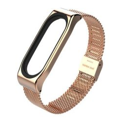 Stainless Steel Milanese Watch Band For Xiaomi Miband 3
