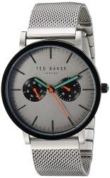 Ted Baker Men's Smart Casual Japanese-quartz Watch With Stainless-steel Strap Silver 20 Model: 10031187