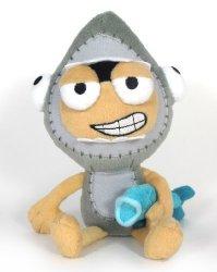 Jazwares Toys Poptropica 7 Inch Plush Figure Shark Boy
