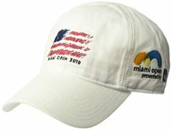 Lacoste Men's Sport Miami Open Edition Americana Cap White M l