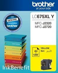 Brother LC675XL-Y Yellow Ink Cartridge