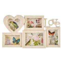 Decor - Amor Love Frame Crm Wash