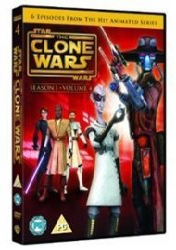 Star Wars - The Clone Wars: Season 1 - Volume 4 Dvd