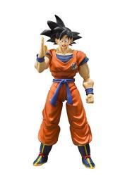 Bandai Tamashii Nations S.h. Figuarts Son Goku A Saiyan Raised On Earth Dragon Ball Super Action Figure
