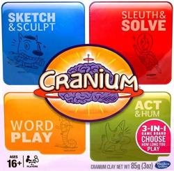 Cranium 3-IN-1 Game Board 2014