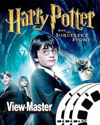 USA Classic Viewmaster 3 Reel Set - Harry Potter Part 1 - 2001 Movie