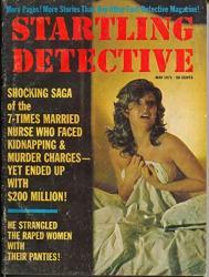 Startling Detective 5 1971-CRIME Pulp-violence-terror Cover-vg