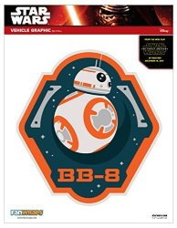 FanWraps, Inc. Fanwraps The Force Awakens BB-8 MINI Decal