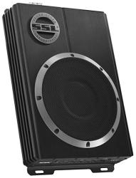 """Sound Storm Laboratories LOPRO8 600W Low Profile Amplified 8"""" Car Subwoofer with Remote Subwoofer Control"""