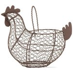 "Tag 204829 Farmhouse Chicken Wire Basket 9.6 X 11.25 X 6.7"" Antique Finish"