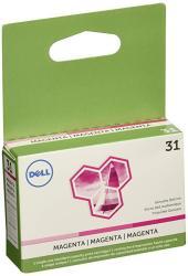 Dell Series 31 Single Use Magenta Ink Cartridge Oem 331-7690 200 Yield