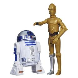 Hasbro Star Wars Rebels Mission Series C-3PO And R2-D2 Action Figure Set 3.75 Inches