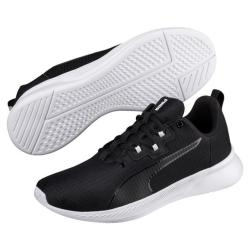 Puma Men's Tishatsu Running Shoes - Black white