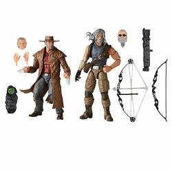 Hasbro Marvel X-men Series 6-INCH Collectible Marvels Hawkeye And Marvels Logan Action Figure Toys Ages 4 And Up