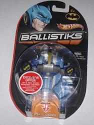 Hot Wheels Ballistiks Vehicle - Blue Batman