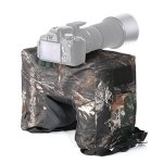 Movo Photo THB02 Camouflage Camera Lens Bean Bag With Head Mounting Plate - Mossy Oak Fullsize
