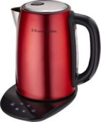 Russell Hobbs - 2200W Digital Kettle - Red