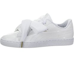 new arrivals 48ff0 f34ae Puma Women's Basket Heart Patent Wn's Sneaker White White 7.5 M Us |  R3380.00 | Sunglasses | PriceCheck SA