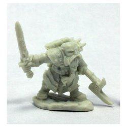Bones: Durgam Deepmug Dwarf Hero W3 Miniatures