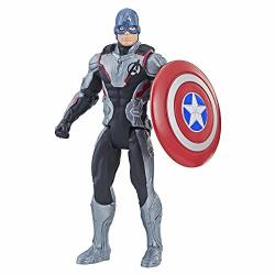 "Hasbro Avengers Marvel Endgame Team Suit Captain America 6""-SCALE Figure"