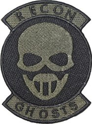 Tom Clancy's Ghost Recon Medic Embroidered Patch Badge Iron-on Sew On 5