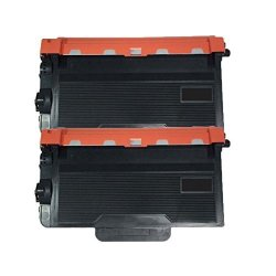 Inktoneram 2 Replacement Toner Cartridges For Brother TN850 TN820 For Brother TN-850 TN-820 Toner Cartridge MFC-L6800DW MFC-L6900DW MFC-L5850DW MFC-L5700DW MFC-L5800DW MFC-L5900DW MFC-L6700DW