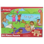 Butterfly - Wooden Puzzle A4 24 Piece 6 Designs
