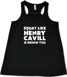 Constantly Varied Women's Squat Like Henry Cavill Is Behind You Tank M Pink