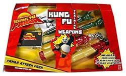Kung Fu Panda Movie Training Weapons Panda Attack Pack