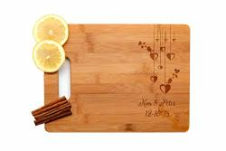 Krezy Case Wooden Engraved Cutting Board Home D Cor Chopping Boardwedding Gifts For The Couple