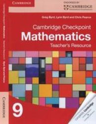 Cambridge Checkpoint Mathematics Teacher's Resource 9 cd-rom