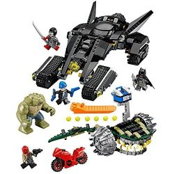 LEGO Super Heroes 76055 Batman: Killer Croc Sewer Smash Building Kit 759 Piece