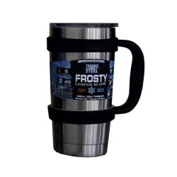 Thermosteel Frosty Vacuum Tumbler With Handle 590ml