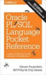 Oracle Pl sql Language Pocket Reference Paperback 5th Revised Edition
