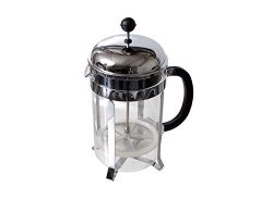 French Press - Stainless 12-CUP Glass