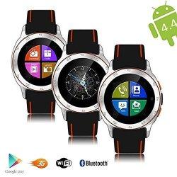 InDigi Allweather Waterproof Android 4.4 Smart Watch Phone 3G Wifi Google Maps Unlocked Smart Watche
