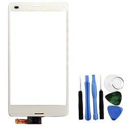 BisLinks White Touch Screen Digitizer Repair + Tools For Sony Xperia Z3 MINI D5803 D5833