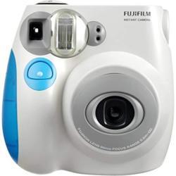 Fujifilm Instax MINI Film Camera Blue Trim