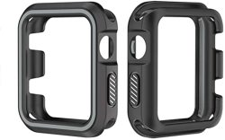 WATCH Case For Apple I Series 3 2 1 38MM 42MM Sports Tpu Case Silicone Soft Protective Case Cover
