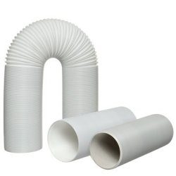 59 Inch Length Cherubs Air Conditioner Exhaust Hose 5x59 inch 5 Inch Diameter Counter-Clockwise Threads for Portable Air Conditioner