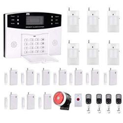 AG-security High Efficiency Security System 99+8 Zone Automatic Alarm GSM Sms Home Burglar Security Wireless GSM Alarm System De